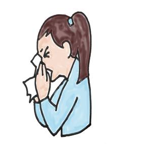 アレルギー、膠原病に関連した症状